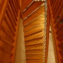 Un escalier balancé peu commun
