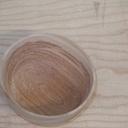 Un bols en merisier
