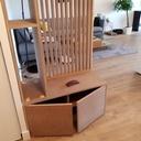 meuble de s paration de pi ce et rangement et cache compteur par cousin06 sur l 39 air du bois. Black Bedroom Furniture Sets. Home Design Ideas