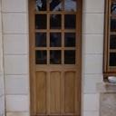 Porte d'entrée et fenêtre
