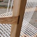 Fauteuil à bascule avec assise en cordelette #1