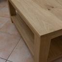 Table de salon en chêne