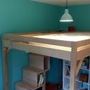 Un lit cabane pour mon fiston