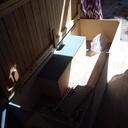 Aménagement du fourgon , pour le taf et les balades .