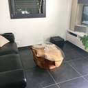 Table basse souche