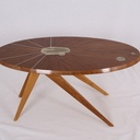 Table basse ellipse.