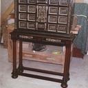 Piètement de cabinet Louis XIII