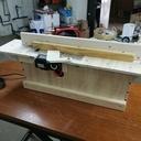 Fabrication d'un meuble pour rabot électrique