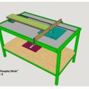 TABLE pour scie circulaire et défonceuse Version 2