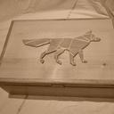 Boîte à secrets du petit renard