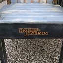 Fauteuil inspiration Harley Davidson