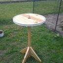 Table plateau tournant par beenie sur l 39 air du bois - Table avec plateau tournant ...