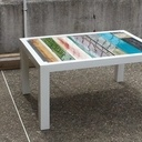 Table basse palette design