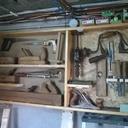 armoire d'outils à bois