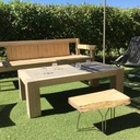 Table basse jardin