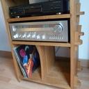 Meuble hi-fi en chêne