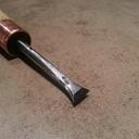 Un ciseau à bois pour queue d'aronde