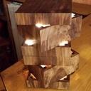 Lampe de forme modulable