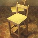 Une paire de chaises hautes