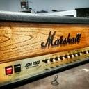 Customisation Tête d'ampli Marshall