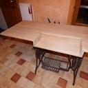 Table pour machine à coudre