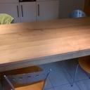 Table de cuisine pour les parents