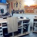 Construction de la base du meuble
