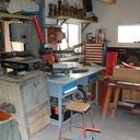 L'atelier du tourneur chantourneur