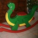 Mon Dino à bascule