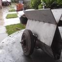 Un  chariot a panneaux