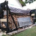 Chevetre pour stocker son bois