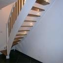 Etude et tracé d'un escalier quartier tournant