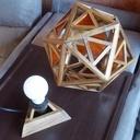 Lampe icosaèdre