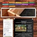 La maison Lego en bois