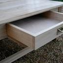 Première table basse en chêne