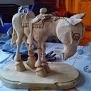 Sculpture cheval Farwest