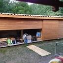 Cabanon, bûcher bois, range canoë et abri jardin - tout en un