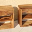 Les deux tables symétriques
