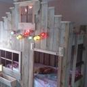 Unique lit Enfants superposer Aventure