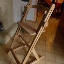 Chaise haute façon Toutenbois