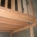Mezzanine pour cabane