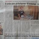 Notre Zeloko dans la presse locale !