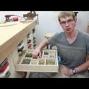 Des tiroirs de rangement