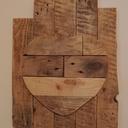 Cadres en bois de palette