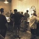 La visite de l'atelier