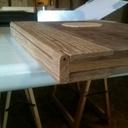 Cahier en bois