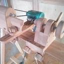 Tour à bois  en bois