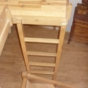 Escalier avec mezzanine