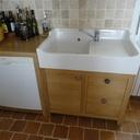 Meuble de cuisine sous évier