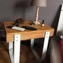 Table de chevet rustique